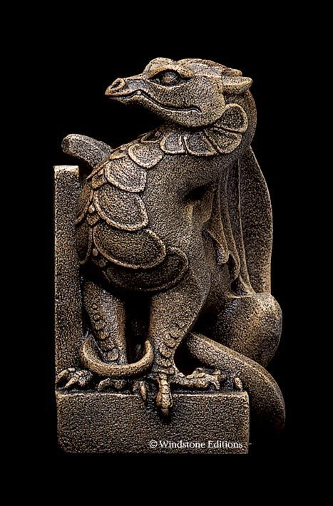 1452 best images about polymer clay papier mache ideas on pinterest polymers sculpture and - Dragon bookend ...