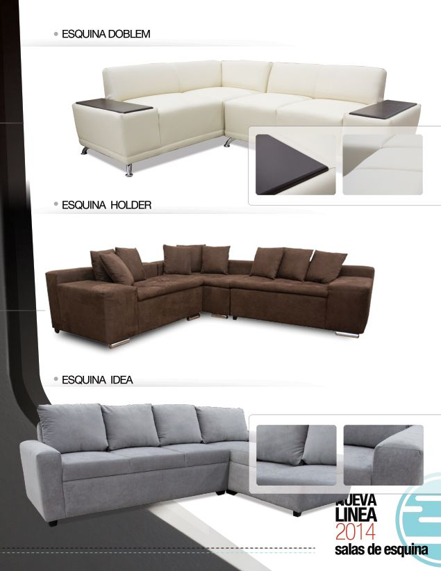 9 best salas en esquina 2014 images on pinterest couch - Sofas en esquina ...
