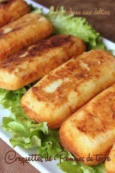 Kartoffelkroketten mit Hackfleisch   – Leslie R.