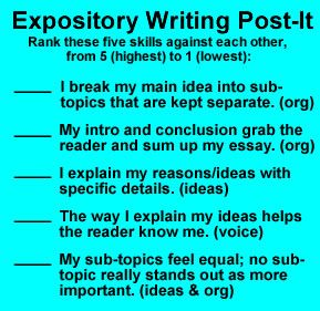 expository writing lessons This presentation will focus specifically on expository writing expository essay   what does it mean to elaborate on your claims and evidence end --.