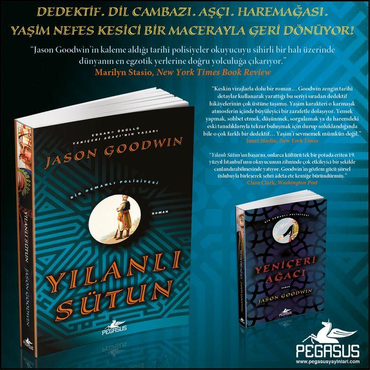#YENİKİTAP  YILANLI SÜTUN (Bir Osmanlı Polisiyesi 2) - JASON GOODWIN  Dedektif. Dil cambazı. Aşçı. Haremağası.  Yaşim nefes kesici bir macerayla geri dönüyor!      Özgün Adı: The Snake Stone Çeviri: Fethi Aytuna Tür: Tarihi Roman Sayfa: 384 Satış Tarihi: 6 Nisan İncelemek ve Satın Almak için: