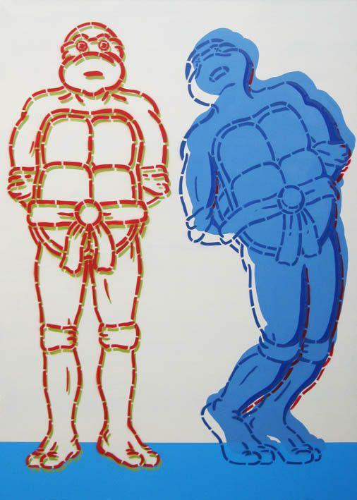 Sprawiedliwość społeczna, 100x140cm, akryl na płótnie, 2014r.
