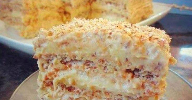 Túto vynikajúcu egyptskú chrumkavú tortu som jedla na dovolenke a som šťastná, že mám na ňu recept. Už si môžem dovolenku spraviť kedy chcem