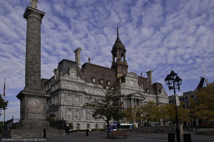 Фото - путешествия по миру: Монреаль. Старый город