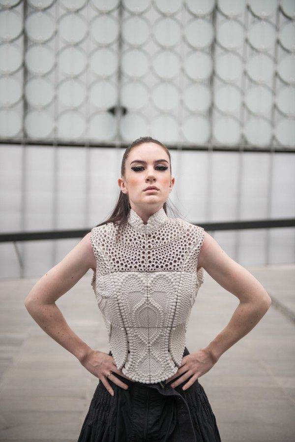 The Science Of Water Inspired This 3D-Printed Top   The Creators Project