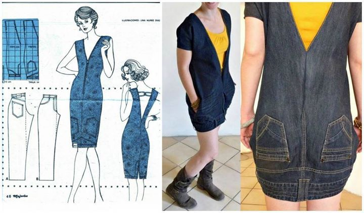 Diese 9 genialen Ideen beweisen: Alte Jeans schneidet man auseinander und bastelt. Geniale Teile!