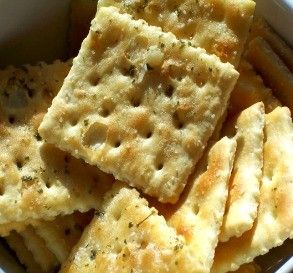 "Garlic Saltine Crackers: ""I can't stop eating these. They are buttery, garlicky goodness!"" -alligirl"