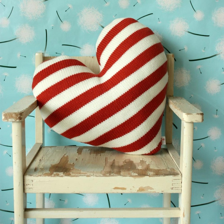 I ADORE this Love Heart Pillow.