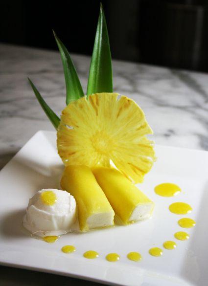 Pineapple Passion Fruit Wraps