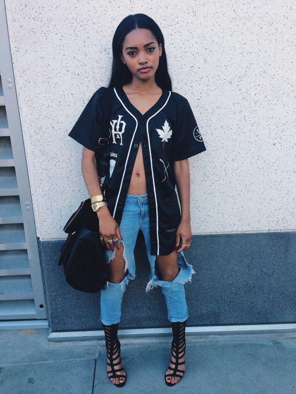 unisex knyew letter printed streetwear jersey hip hop