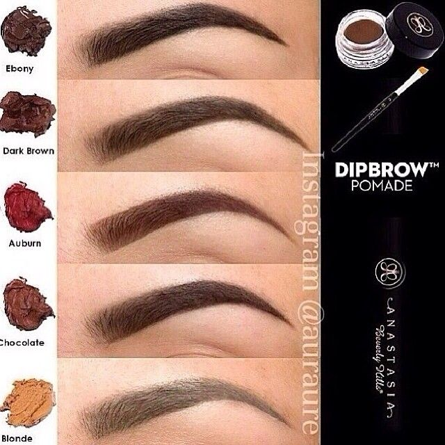 Anastasia Beverly Hills Dipbrow Pomade. This product is supposed to be excellent for filling in eyebrows, especially sparse eyebrows.