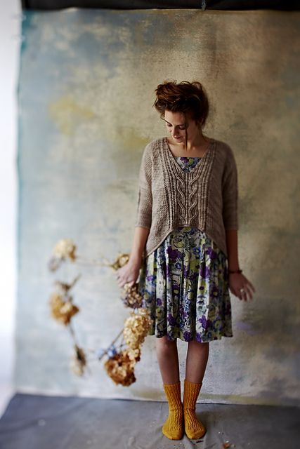 New pattern by Norah Gaughan. This would look very good on my sister Cath... http://www.ravelry.com/patterns/library/sous-sous