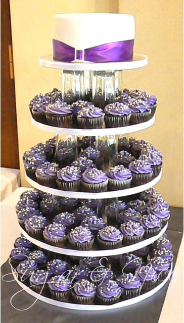 Hesme Wedding Cupcake Tower
