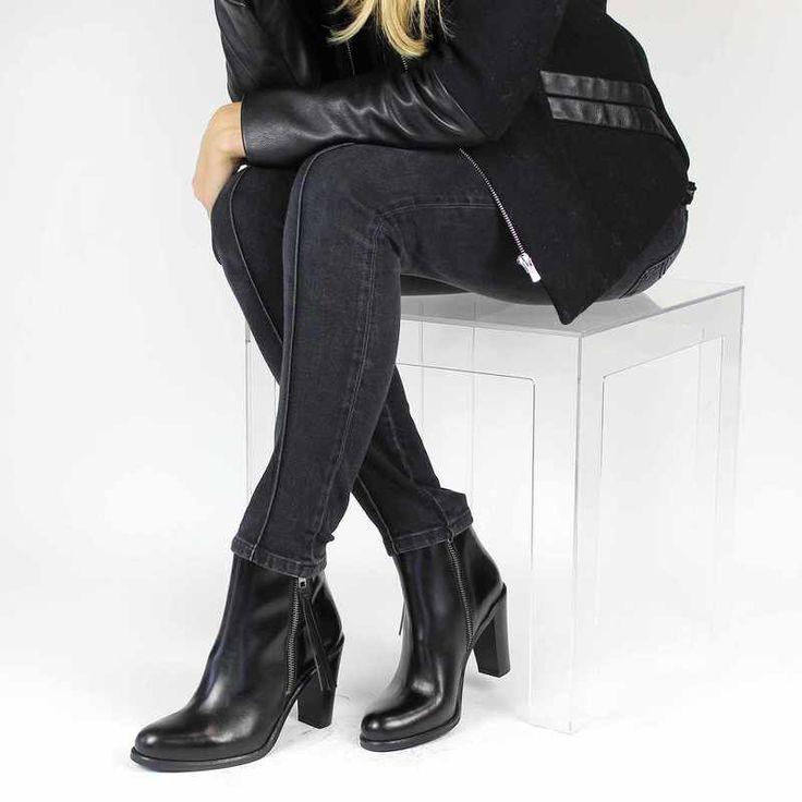 Chaussure Janie Philip PEGGY Noir pour Femme | JEF Chaussures
