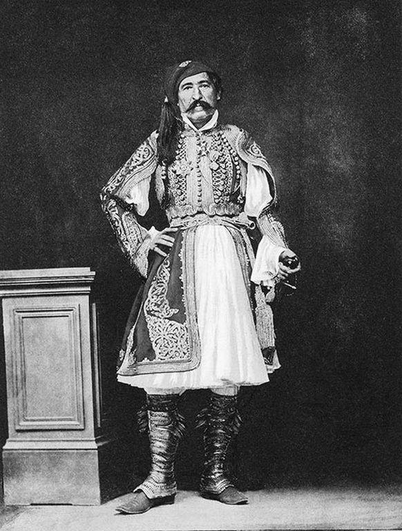 Στρατηγός Χριστόδουλος Χατζηπέτρος, 1855