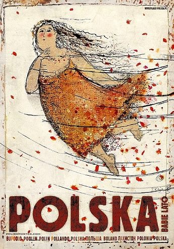 Polska. Babie latoZobacz też inne plakaty z serii PLAKAT-POLSKA Oryginalny polski plakatautor plakatu: Ryszard Kaja  data druku: 2016 wymiary plakatu: B1, 68x98cm