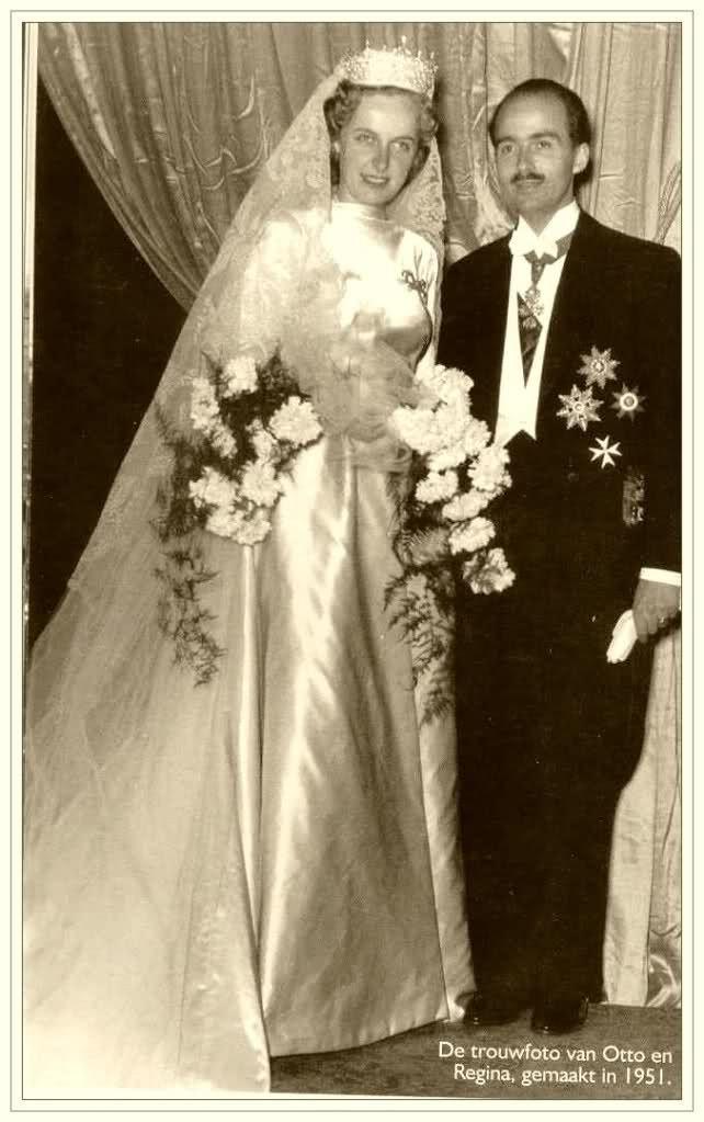 Wedding Archduke Otto von Habsburg