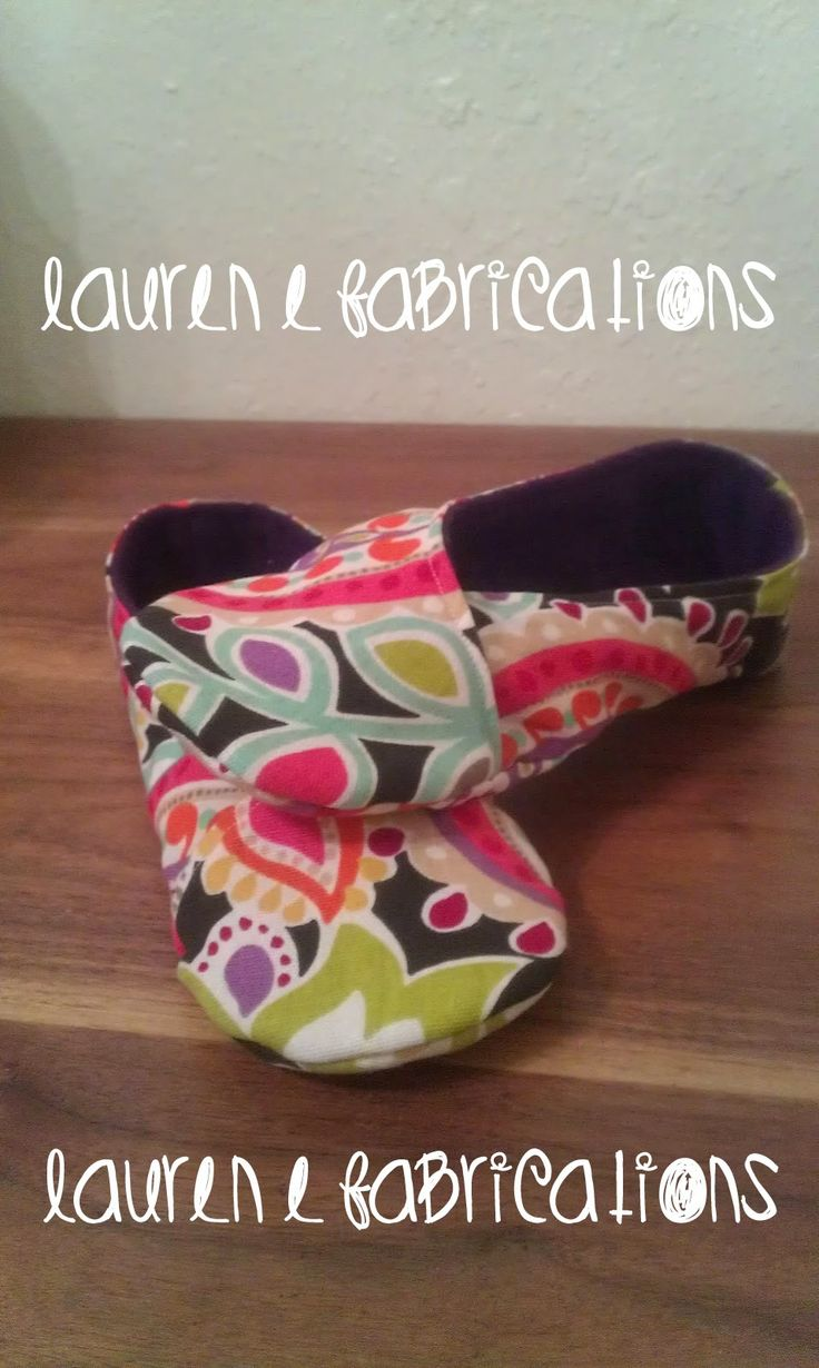 Lauren E Fabrications: Kimono Slipper Tutorial