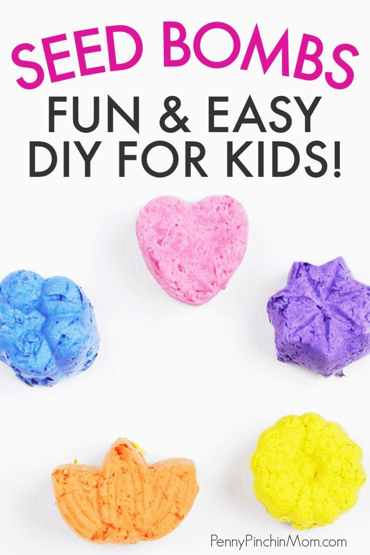 Diy Seed Bombs Perfect For Your Springtime Garden