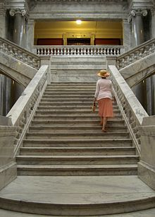 Kentucky State Capitol - Marble Staircase