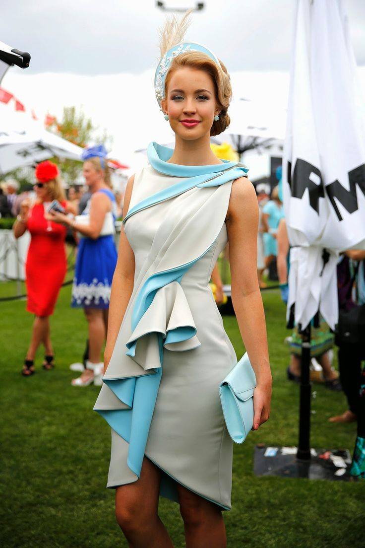 What they Wore: Melbourne Cup 2014 , love this!