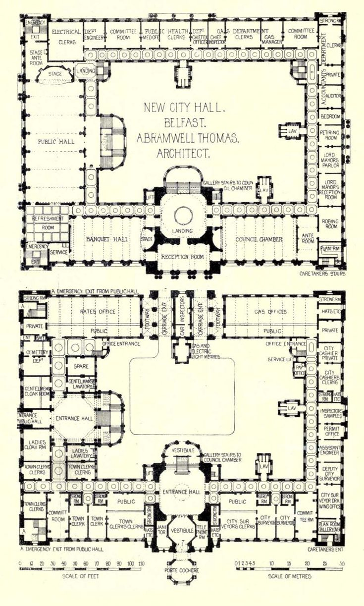206 best building plans images on pinterest building plans plans of the new city hall belfast