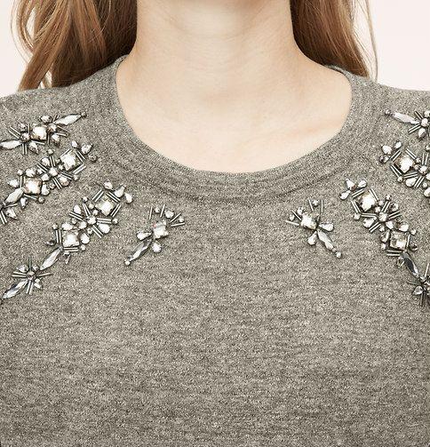 Gemstroked Sweater | Loft