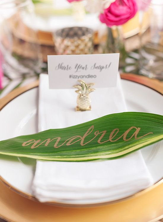 2016 Spring Wedding Lookbook | Modern Tropical | Beau-coup