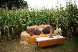hay bale couches
