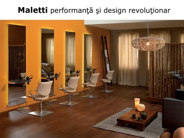 Maletti - performanta si design revolutionar pentru salonul tau de infrumusetare!