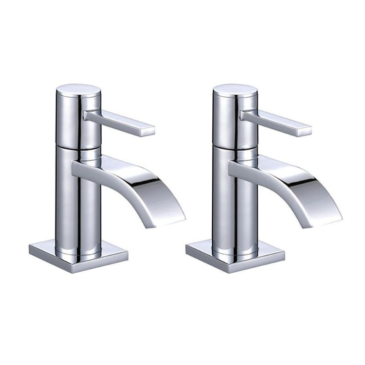 ASTINI Imex Chrome Bathroom Hot & Cold Basin Sink Taps B001-Mybathroom.co.uk