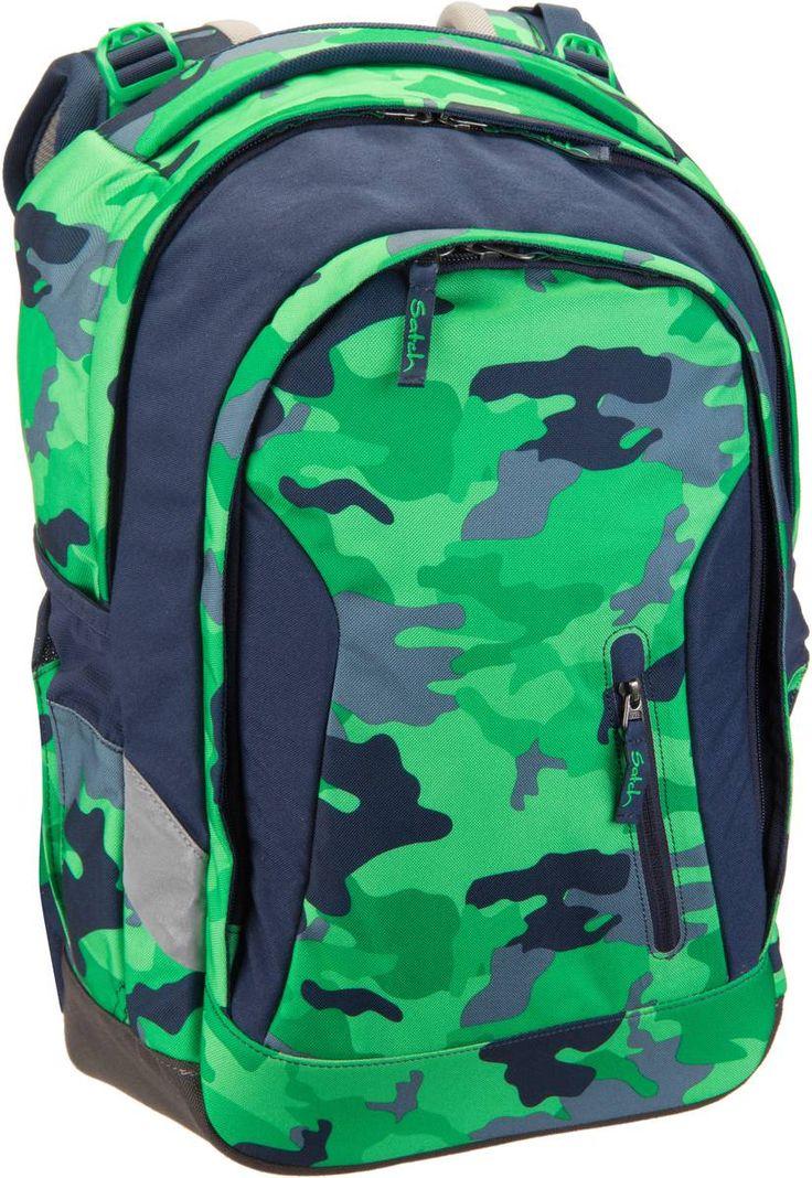 Taschenkaufhaus satch satch sleek Green Camou - Laptoprucksack: Category: Taschen & Koffer > Laptoprucksack > satch Item…%#Quickberater%