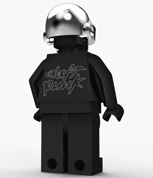 Daft Punk Stuff by Timur Pinar, via Behance
