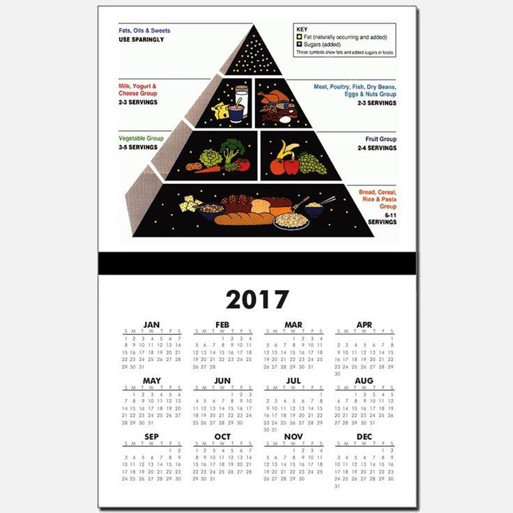 Nutrition Pyramid 2017 | Health Food Calendars | Health Food Calendar Designs Templates for ...