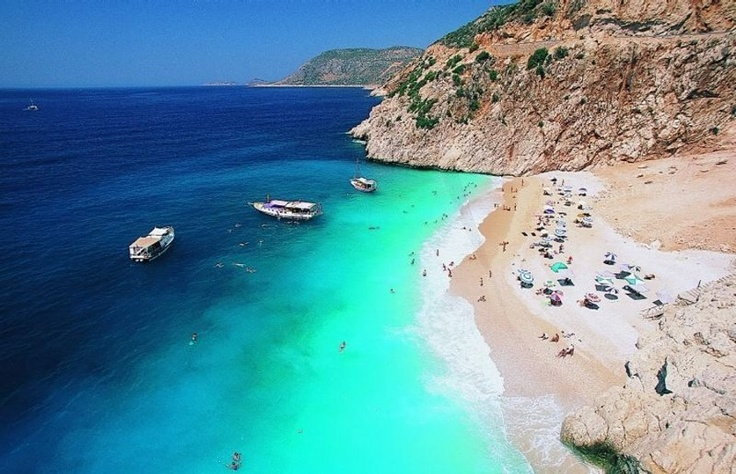 Antalya-Kaputaş Plajı