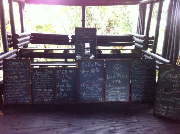 Boards of menu #iPhone #NoFilter