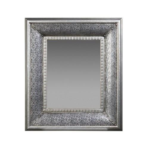 Espejo rectangular repujado repujado pinterest for Espejo rectangular