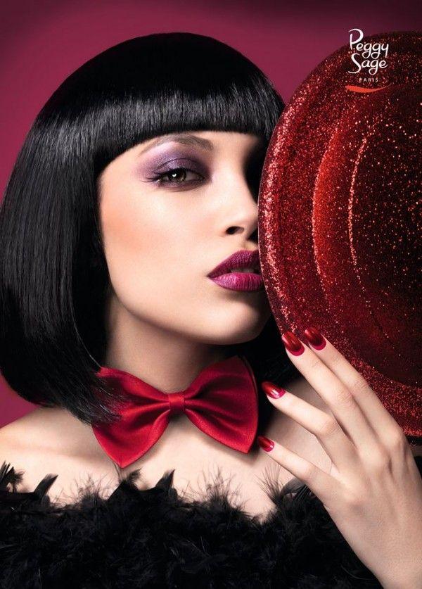 Un make-up de Cabaret pour les fêtes, signé Peggy Sage http://beaute.tinkerstyle.com/2014/12/04/un-make-up-de-cabaret-pour-les-fetes-signe-peggy-sage/