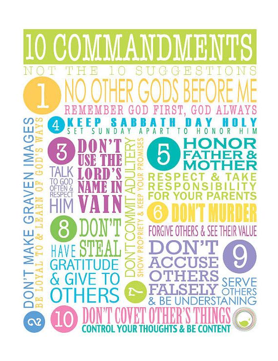 PRINT 10 Commandments Dos Don 39 ts What 39 s the The o