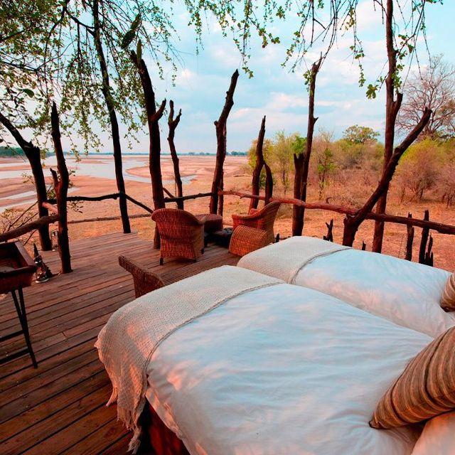 Kalamu Lagoon Camp, Zambia.