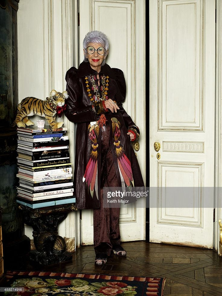 Iris Apfel   Avenue Magazine on February 13, 2014 in New York City. PUBLISHED IMAGE.
