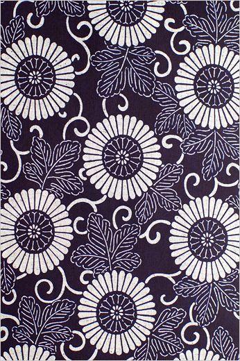 呉服鈴木 | 浴衣 | 菊唐草 - Classic Japanese kimono pattern (Chrysanthemum)