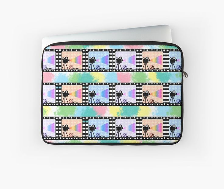 Colorful #laptop sleeve, perfect for #movie fans @redbubble