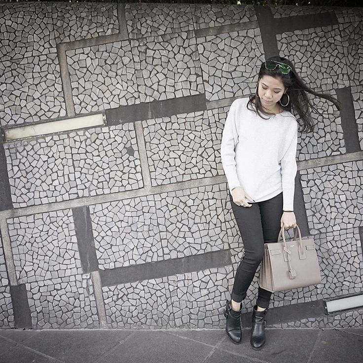Autumn fashion outfit from @forevernew  Handbag from @saintlaurent Boots from @Tonybianco
