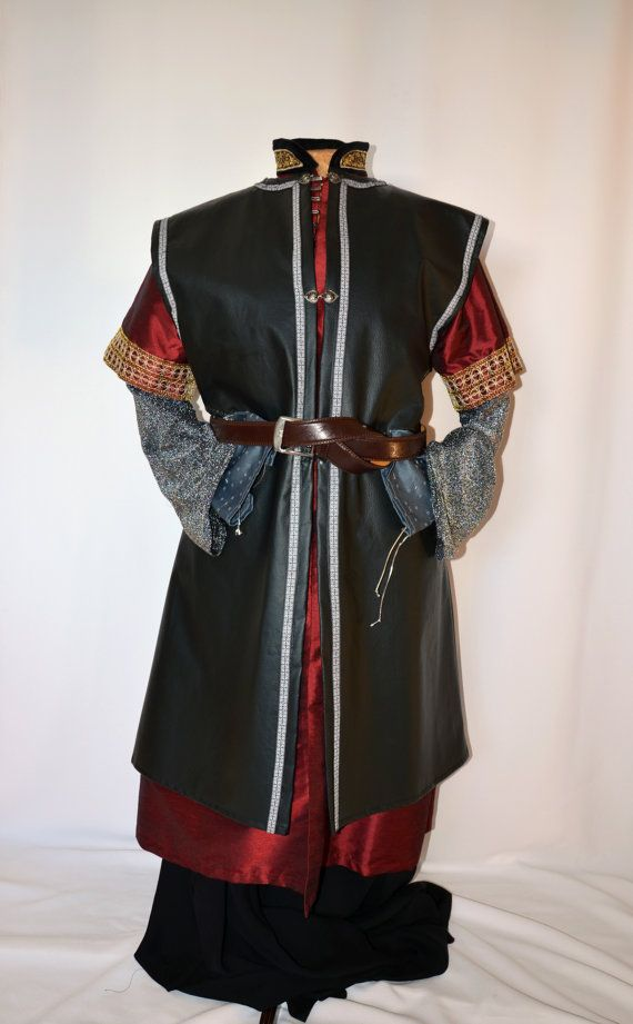 Boromir costume Medieval King Lord Knight by