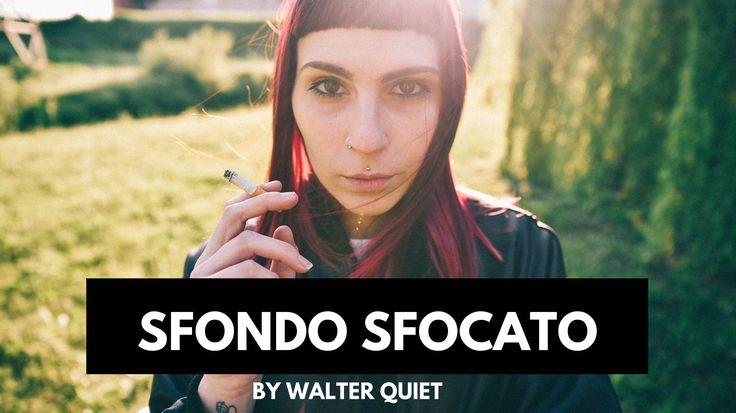 COME AVERE LO SFONDO SFOCATO NELLE FOTO - Tutorial fotografia