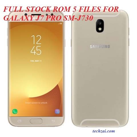 Full Stock ROM 5 Files For Samsung Galaxy J7 Pro (SM-J730) | Daily