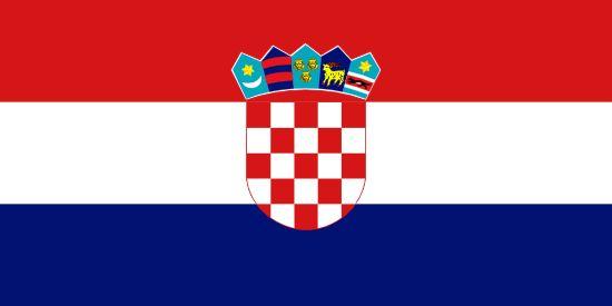 Bandera de Croacia PaísCroaciaCapitalZagrebPoblación4.290.612 (2011)Área total56.538 km2Declarada25. 6. 1991Punto más altoDinara (1.831 m)PIB$ 17.618 (FMI, 2012)Monedakuna croata (HRK)