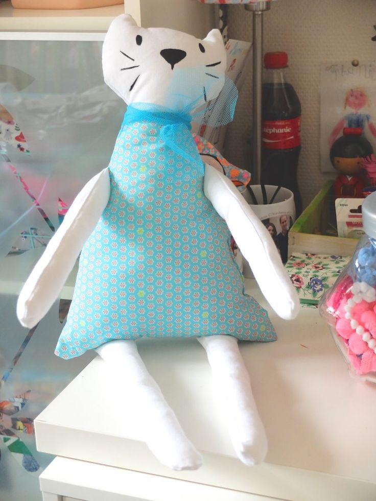 Mon doudou chat - doudou, cuddly toy, chat, cat, doudou chat