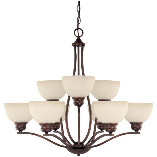 Capital lighting c4039bb207 stanton mid sized chandelier chandelier burnished bronze at ferguson com